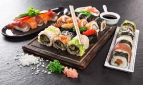 Заказать суши и роллы с бесплатной доставкой