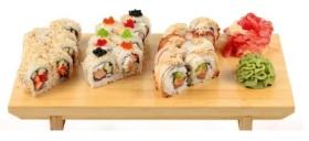 Доставка суши и роллов скидка